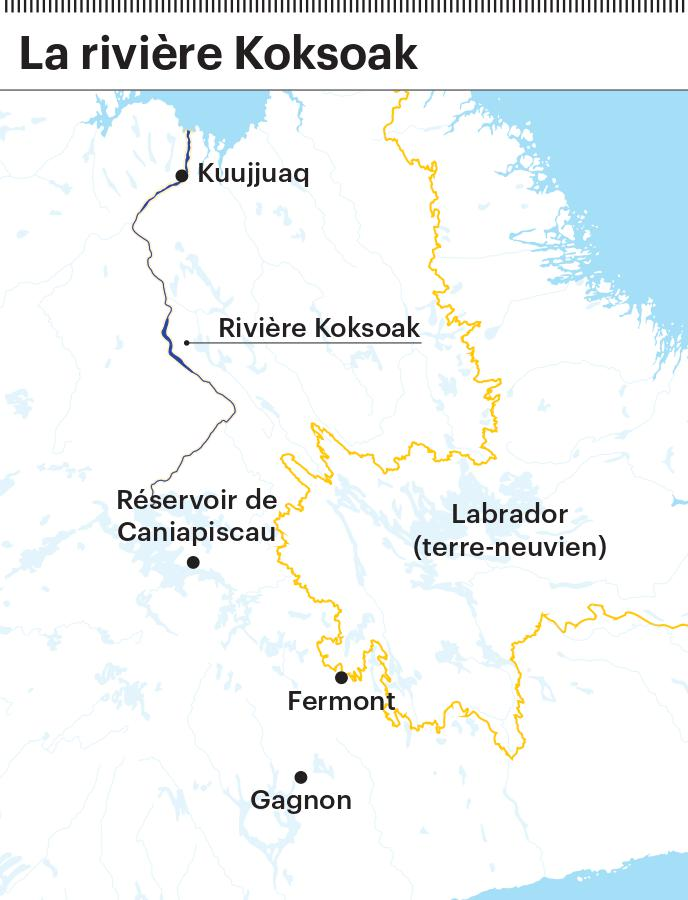 La rivière Koksoak de Gabrielle Roy
