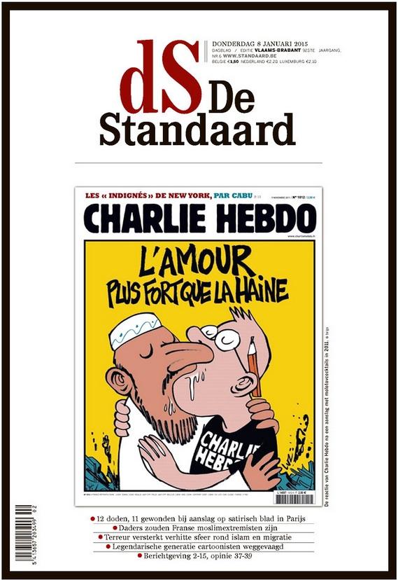 L'attentat contre Charlie Hebdo à la une | Le Devoir