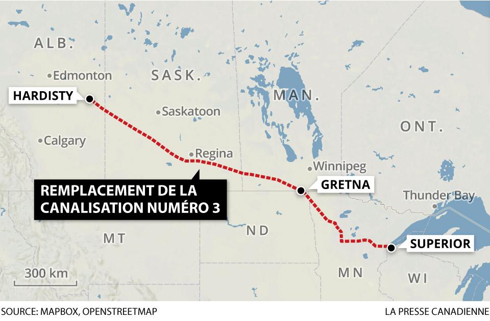 Manifestation prévue contre des projets de pipeline