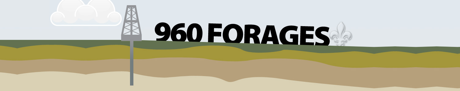 960 forages, illustration du Devoir