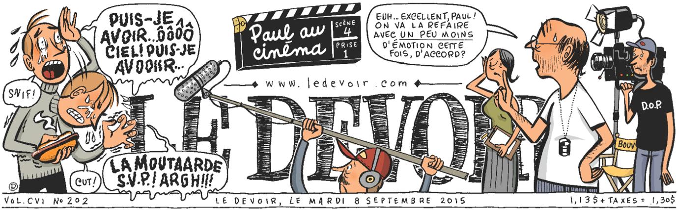 Le Devoir.com - Paul au cinéma
