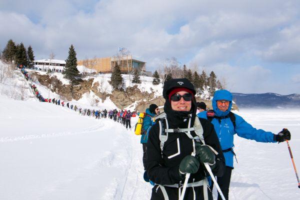 Ski et raquette à la Grande Traversée