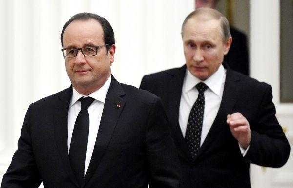 Moscou et Paris vont coordonner leurs frappes