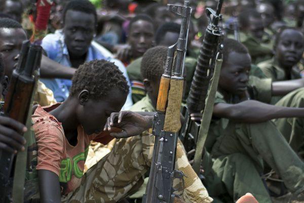 Le conflit compte 16000 enfants enrôlés de force