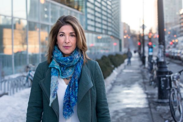 Naomi Klein critique l'interdiction de manifester