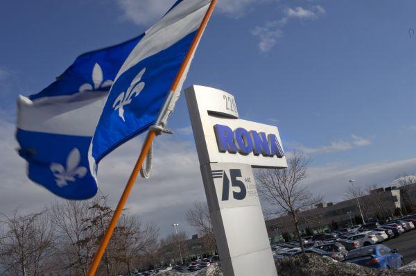 Rona: vendre le Québec