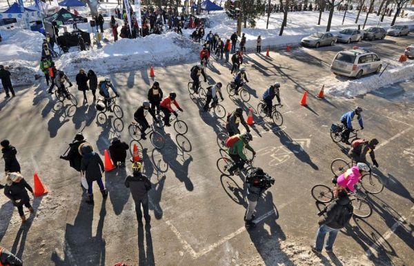 Un congrès international du vélo d'hiver en 2017