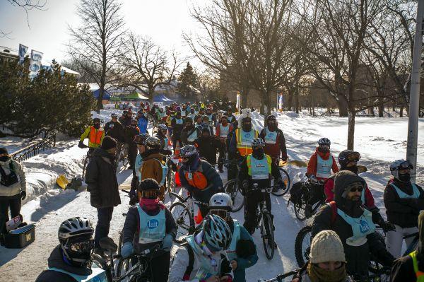 La féria du vélo hivernal de retour pour une 3e année