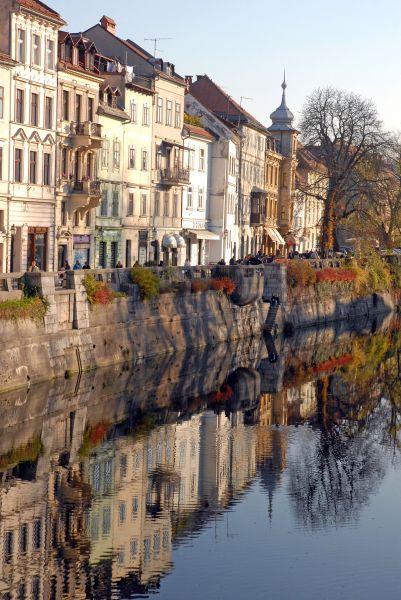 Ljubljana,  la bien-aimée capitale
