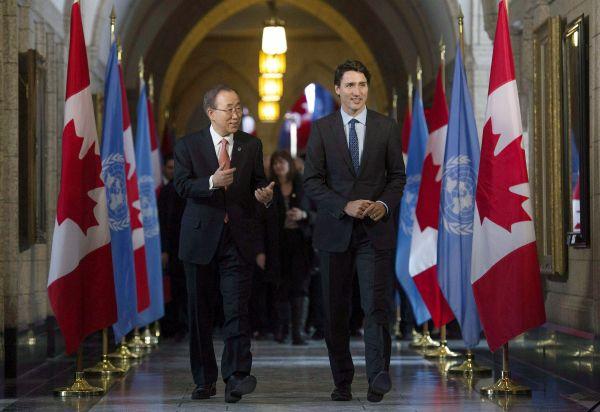 Trudeau en mission de paix auprès de l'ONU