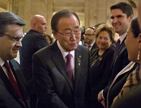 Ban Ki-moon lance une flèche à l'ancien gouvernement Harper