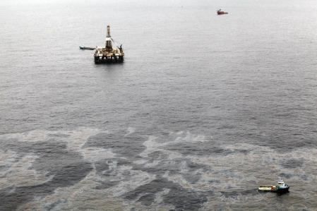 Chevron forait un puits d'évaluation à 370 kilomètres de la côte de Rio de Janeiro lorsque la fuite s'est déclenchée.<br />