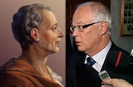Montesquieu et Robert Dutil...<br />