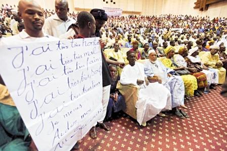 Des Maliens originaires du nord du pays se sont réunis hier à Bamako.<br />