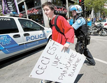 La police de Montréal a procédé à 34 arrestations dites «préventives» lors de la fin de semaine du Grand Prix de Formule 1.