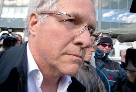 Tony Accurso a été arrêté à deux reprises en 2012, d'abord en avril, par l'Unité permanente anticorruption (notre photo), puis en août, par la Gendarmerie royale du Canada.
