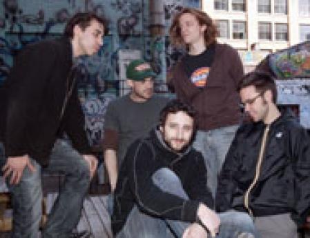 Les membres du groupe québécois [karkwa]