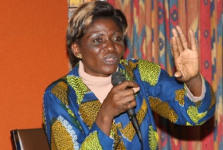Bernadette Ntumba ne désespère pas de voir s'arrêter la violence contre les femmes en République démocratique du Congo.