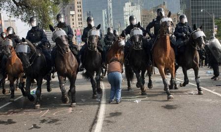 G20 de Toronto : la montagne a accouché d'une souris Manifestation-a-toronto