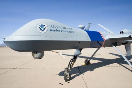L'agence américaine utilise le Predator B, un drone fabriqué par l'entreprise General Atomics, qui est aussi utilisé pour surveiller la frontière avec le Mexique. L'armée américaine utilise également l'appareil en Irak et en Afghanistan.