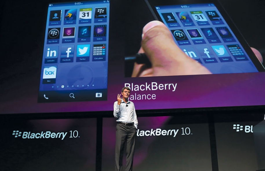 The year was long for those waiting BB10 operating system from RIM.  The device, which should be launched on 31 January 2013, represents the last hope for the company led by Thorsten Heins to take its place in the world of mobile telephony.